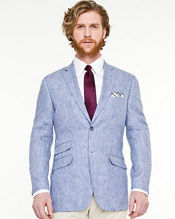 Linen Contemporary Fit Blazer