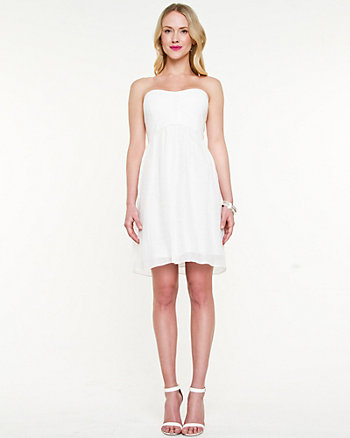 Ghost Gauze Bustier Dress
