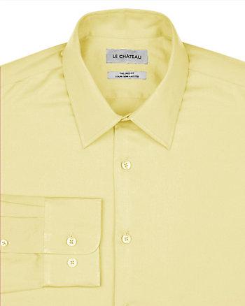 Chemise de coupe semi-ajustée en satinette
