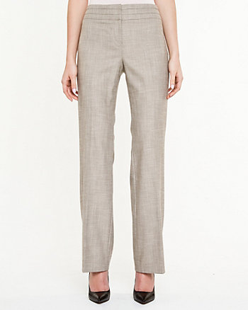 Woven Crosshatch Pant