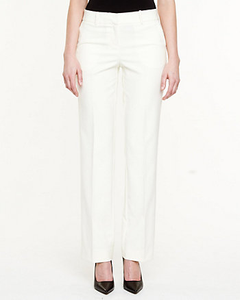 Double Weave Flared Pant