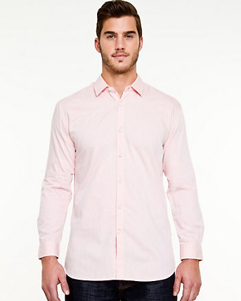 Cotton Twill Tailored Fit Shirt