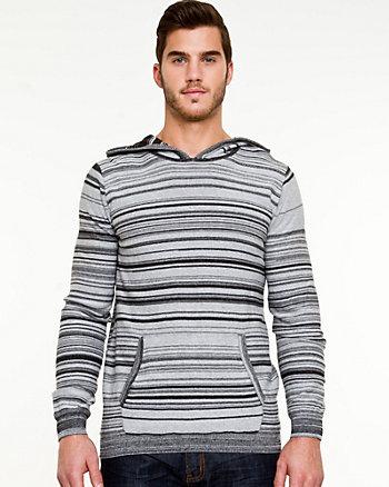 Stripe Slim-fit Hoodie