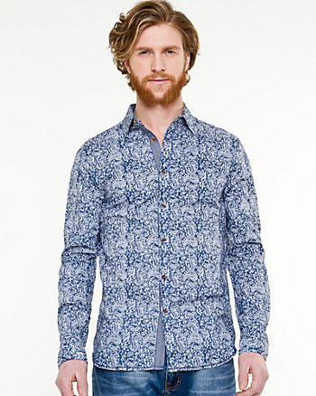 Paisley Print Tailored Fit Shirt