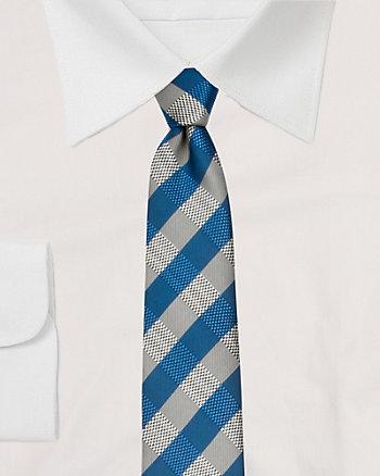 Microfibre Check Tie