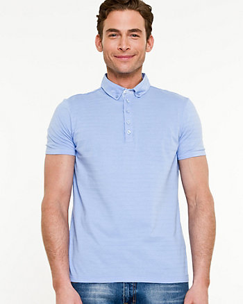 Knit Slim Fit Polo
