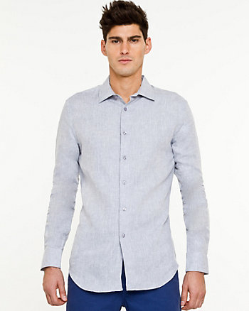 Linen Tailored Fit Shirt