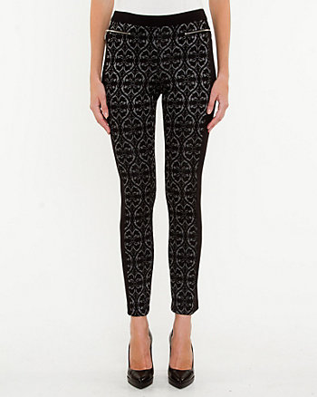 Jacquard Slim Fit Pant