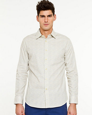 Cotton Tailored Fit Shirt