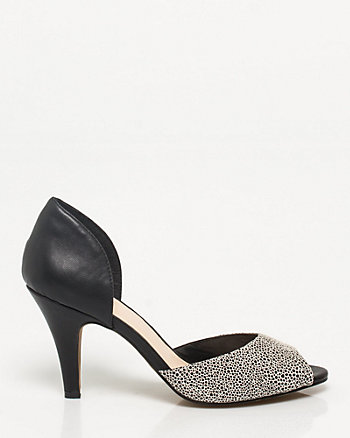 Stingray Peep Toe Pump
