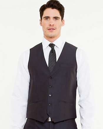 Herringbone Contemporary Fit Vest