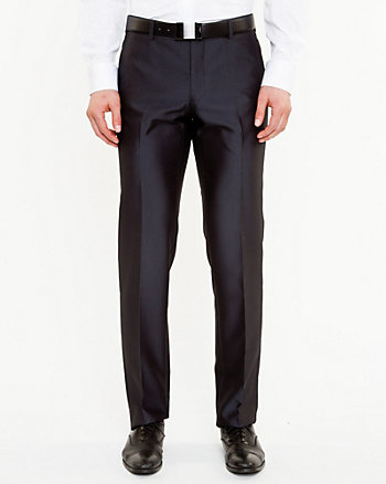 Herringbone Straight Leg Pant