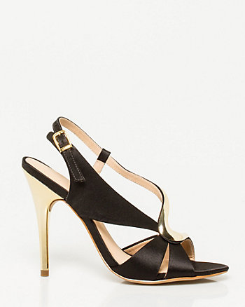 Brazilian-Made Satin Sandal