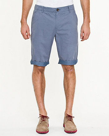 Chino Belted Short