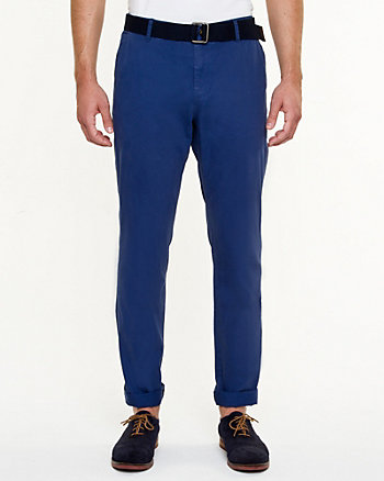 Slim Leg Denim Pant