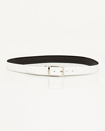 Matte Leather Belt