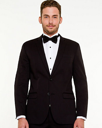 Sateen Slim Fit Blazer