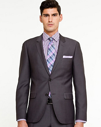 Tonal Pattern City Fit Blazer