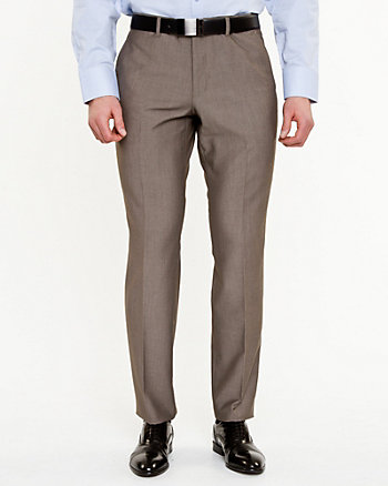 Tonal Pattern Straight Leg Pant
