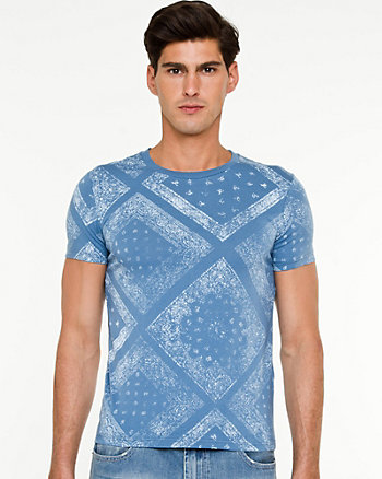 Bandana Print Slim Fit T-shirt