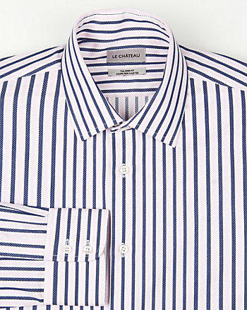 Stripe Tailored Fit Shirt