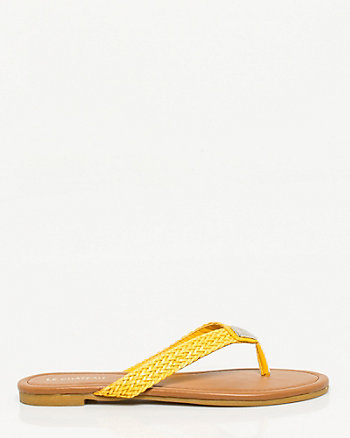 Braided Thong Sandal