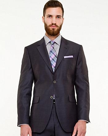 Tonal Wool Blend Classic Fit Blazer