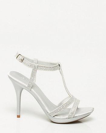 Metallic Platform Sandal