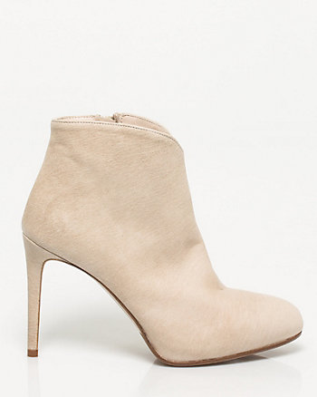 Italian-Made Leather Bootie