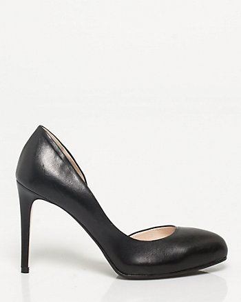 Italian-Made Leather Pump