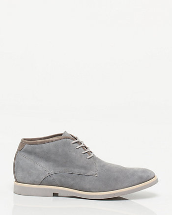Suede Almond Toe Shoe
