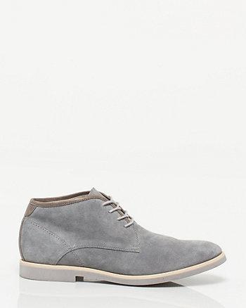 Suede Almond Toe Shoe