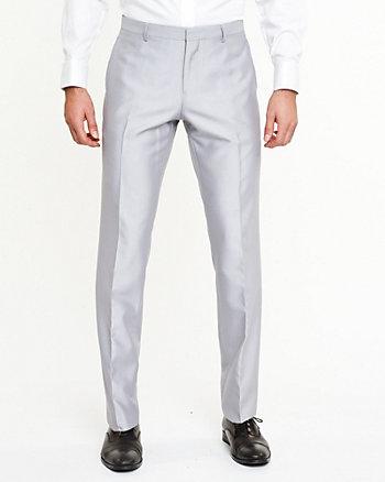 Pantalon en chevron lustré