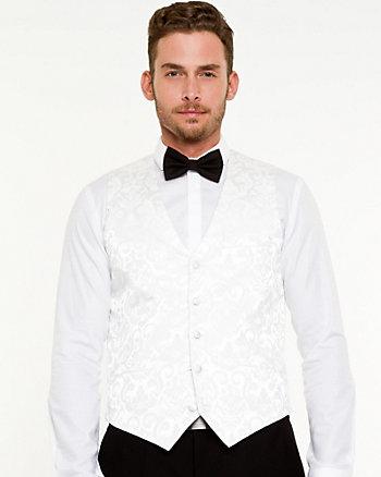 Jacquard Contemporary Fit Vest
