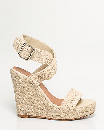 Rope Strappy Wedge