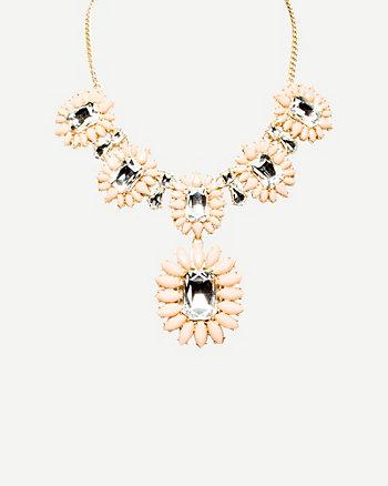 Gemstone Collarbone Necklace