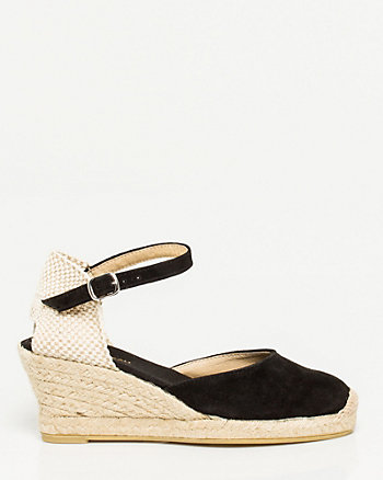Spanish-Made Suede Espadrille
