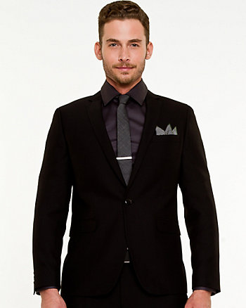 Tonal Pattern Contemporary Fit Blazer