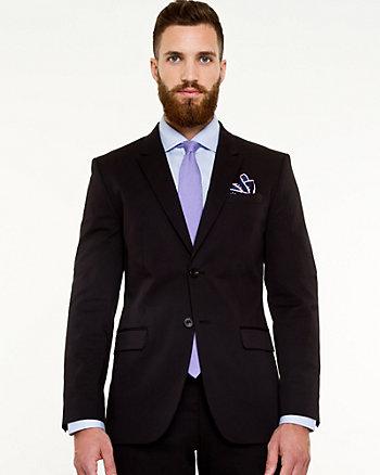 Cotton Sateen Contemporary Fit Blazer