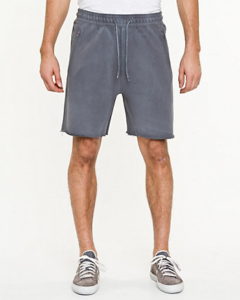Drawstring Cotton Short