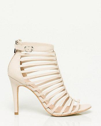 Faux Leather Gladiator Sandal