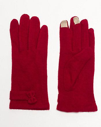 Bow Embellished Glove