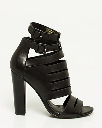 Leather Cage Shootie