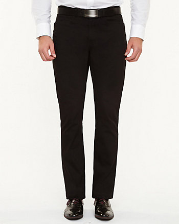 Tonal Pattern Cotton Pant