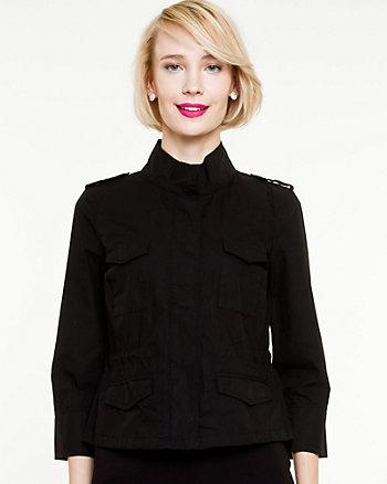 Cotton Poplin Jacket