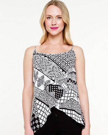 Camisole à imprimé mouchoir