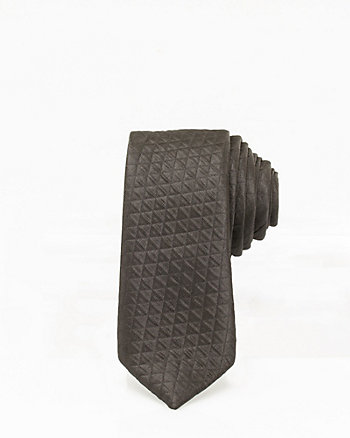 Tonal Pattern Silk Tie