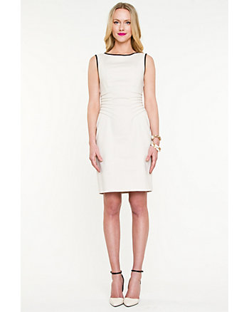 Double Weave Fitted Dress
