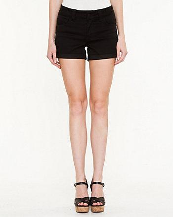 Twill Cuffed Shorts