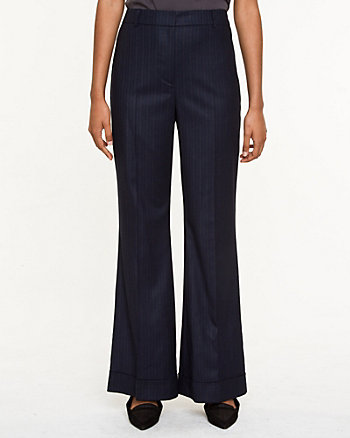 Wool Blend Relaxed Fit Pant